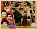 "Movie Posters:Comedy, Animal Crackers (Paramount, 1930). Lobby Card (11"" X 14"")...."