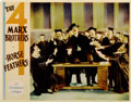 "Movie Posters:Comedy, Horse Feathers (Paramount, 1932). Lobby Card (11"" X 14"")...."