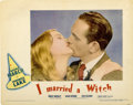 "Movie Posters:Fantasy, I Married a Witch (United Artists, 1942). Lobby Card (11"" X14"")...."