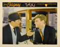 """Movie Posters:Crime, Taxi (Warner Brothers, 1932). Lobby Card (11"""" X 14"""")...."""