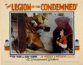 """Movie Posters:War, The Legion of the Condemned (Paramount, 1928). Lobby Card (11"""" X14"""")...."""
