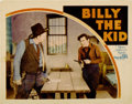 "Movie Posters:Western, Billy the Kid (MGM, 1930). Lobby Card (11"" X 14"")...."