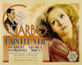 "Movie Posters:Romance, The Painted Veil (MGM, 1934). Title Lobby Card (11"" X 14"")...."