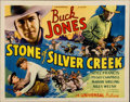 "Movie Posters:Western, Stone of Silver Creek (Universal, 1935). Title Lobby Card (11"" X 14"")...."