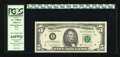 Error Notes:Blank Reverse (<100%), Fr. 1980-E $5 1988A Federal Reserve Note. PCGS Very Choice New64PPQ.. ...