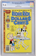 Bronze Age (1970-1979):Cartoon Character, Richie Rich Dollars and Cents #87 File Copy (Harvey, 1978) CGC NM+9.6 White pages....