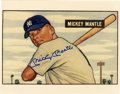 Baseball Collectibles:Others, Mickey Mantle Signed Photo Print. Those well-versed in the hobbywill immediately recognize this as the art from the only r...