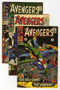 The Avengers Group (Marvel, 1966-68) Condition: Average VG.... (Total: 18 Comic Books)