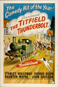 "Movie Posters:Comedy, The Titfield Thunderbolt (Rank, 1953). British One Sheet (27"" X40"")...."
