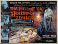 "Movie Posters:Horror, House of Usher (American International, 1960). British Quad (30"" X40"")...."