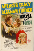 "Movie Posters:Horror, Dr. Jekyll and Mr. Hyde (MGM, 1941). One Sheet (27"" X 41"") StyleC...."