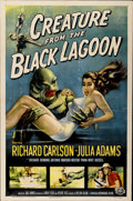 "Movie Posters:Horror, Creature from the Black Lagoon (Universal International, 1954). OneSheet (27"" X 41"")...."
