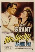 "Movie Posters:Romance, Mr. Lucky (RKO, 1943). One Sheet (27"" X 41"")...."
