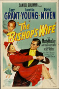 "Movie Posters:Comedy, The Bishop's Wife (RKO, 1948). One Sheet (27"" X 41"")...."
