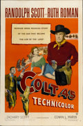 "Movie Posters:Western, Colt .45 (Warner Brothers, 1950). One Sheet (27"" X 41"")...."