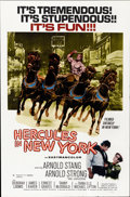 "Movie Posters:Action, Hercules in New York (RAF, 1970). One Sheet (27"" X 41"")...."