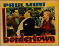 "Movie Posters:Crime, Bordertown (Warner Brothers, R-1938). Lobby Card (11"" X 14"")...."