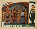 "Movie Posters:Crime, Temptation (Micheaux Film Corporation, 1935). Lobby Card (11"" X14"")...."