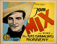 "The Big Diamond Robbery (FBO, 1929). Title Lobby Card (11"" X 14"")"