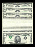 Error Notes:Inverted Third Printings, Fr. 1985-G $5 1995 Federal Reserve Notes. 20 Examples With One TypeII Invert. Very Choice Crisp Uncirculated.. ... (Total: 20 notes)