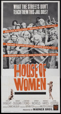 """Movie Posters:Bad Girl, House of Women (Warner Brothers, 1962). Three Sheet (41"""" X 81"""").Bad Girl...."""