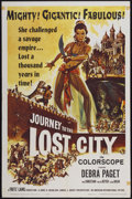 "Movie Posters:Adventure, Journey to the Lost City (American International, 1960). One Sheet(27"" X 41""). Adventure...."