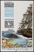 "Movie Posters:Adventure, Mutiny on the Bounty (MGM, 1962). One Sheet (27"" X 41"") Style B.Adventure...."