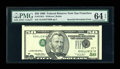 Error Notes:Inverted Third Printings, Fr. 2126-L $50 1996 Federal Reserve Note. PMG Choice Uncirculated64 EPQ.. ...