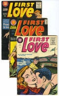 Golden Age (1938-1955):Romance, First Love/First Romance Group Group (Harvey, 1954-57) Condition:Average FN.... (Total: 5 Comic Books)