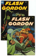 Golden Age (1938-1955):Science Fiction, Flash Gordon Group (Dell, 1953) Condition: Average FN+.... (Total:2 Comic Books)