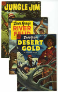 Golden Age (1938-1955):Miscellaneous, Four Color Adventure Group (Dell, 1953-54) Condition: Average FN.... (Total: 11 Comic Books)