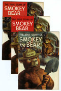 Silver Age (1956-1969):Adventure, Smokey The Bear Promotional Group (Dell, 1959-69) Condition: Average VF-.... (Total: 3 Comic Books)