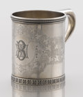 Silver Holloware, American:Cups, AN AMERICAN SILVER CUP. William Bogert & Co., New York, NewYork, circa 1866-1868. Marks: TIFFANY & CO., B, ENG'STERLING,...