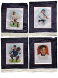 Baseball Collectibles:Others, Helmar Brewing Company Large Silks Collection of 16. Designed toemulate the style of the turn-of-the-century silks provide...