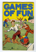 Platinum Age (1897-1937):Miscellaneous, Games of Fun #nn (K.K. Publications, 1934) Condition: FN....