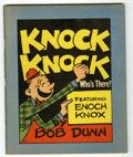 Platinum Age (1897-1937):Miscellaneous, Knock Knock Who's There? #801 (Whitman, 1936) Condition: VF....