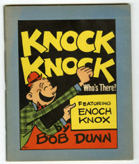 Knock Knock Who's There? #801 (Whitman, 1936) Condition: VF