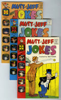 Silver Age (1956-1969):Humor, Mutt and Jeff Jokes/New Jokes File Copies Group (Harvey, 1960-64) Condition: Average NM-.... (Total: 6 Comic Books)