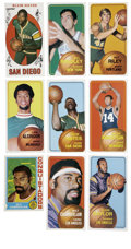 Basketball Cards:Lots, 1969-1974 Topps Basketball Collection (9). Nice group of vintagebasketball cards. Includes 1969-70 Topps #75 Elvin Hayes; ...