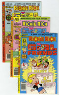 Bronze Age (1970-1979):Cartoon Character, Richie Rich and His Girlfriends #1-16 File Copies Group (Harvey,1979-82) Condition: Average NM-.... (Total: 16 Comic Books)