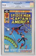 Modern Age (1980-Present):Superhero, Marvel Team-Up #106 Spider-Man and Captain America (Marvel, 1981)CGC NM/MT 9.8 White pages....