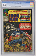 Silver Age (1956-1969):Superhero, Tales of Suspense #86 (Marvel, 1967) CGC VF+ 8.5 White pages....