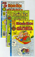 Bronze Age (1970-1979):Cartoon Character, Richie Rich and Gloria #2-23 and 25 File Copies Group (Harvey, 1977-82) Condition: Average NM-.... (Total: 23 Comic Books)