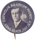 Political:Pinback Buttons (1896-present), Woodrow Wilson: Rare One-Day-Event Button....
