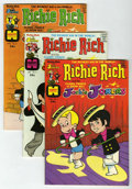 Bronze Age (1970-1979):Cartoon Character, Richie Rich and Jackie Jokers #1-48 File Copies Group (Harvey,1973-82) Condition: Average NM-.... (Total: 48 Comic Books)