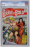 Silver Age (1956-1969):Adventure, The Brave and the Bold #16 (DC, 1958) CGC VF+ 8.5 Cream to off-white pages....