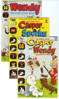 Bronze Age (1970-1979):Cartoon Character, Casper and Wendy and Others Group (Harvey, 1971-73) Condition:Average NM-.... (Total: 8 Comic Books)