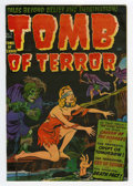 Golden Age (1938-1955):Horror, Tomb of Terror #3 (Harvey, 1952) Condition: FN+....