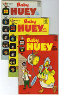 Bronze Age (1970-1979):Cartoon Character, Baby Huey, the Baby Giant File Copy Group (Harvey, 1961-71)Condition: Average VF+.... (Total: 4 Comic Books)