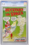Silver Age (1956-1969):Science Fiction, Mystery in Space #84 (DC, 1963) CGC NM 9.4 Off-white to whitepages....